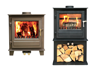 Clock Blithfield 5 (Multi-fuel 5kw) Woodburning Stove