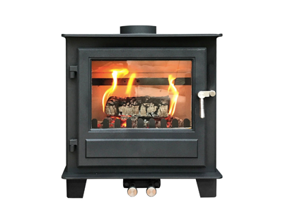 Clock Blithfield 8 (Multi-fuel 8kw) Woodburning Stove