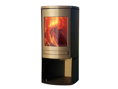 Clock Brocksford CS5 (5kw) Woodburning Stove