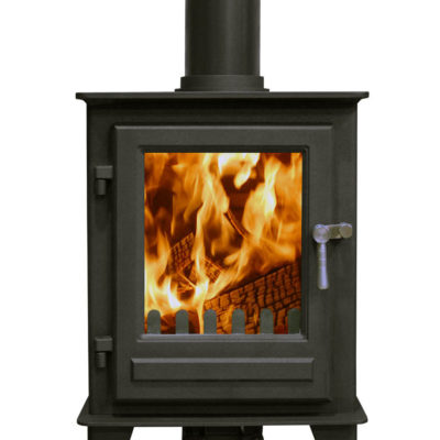 Clock Blithfield Compact 5 (5kw) shown in Metallic Black